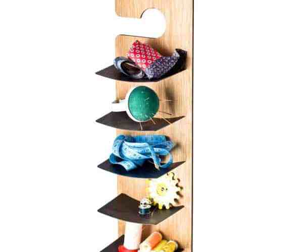 quick and easy wall storage