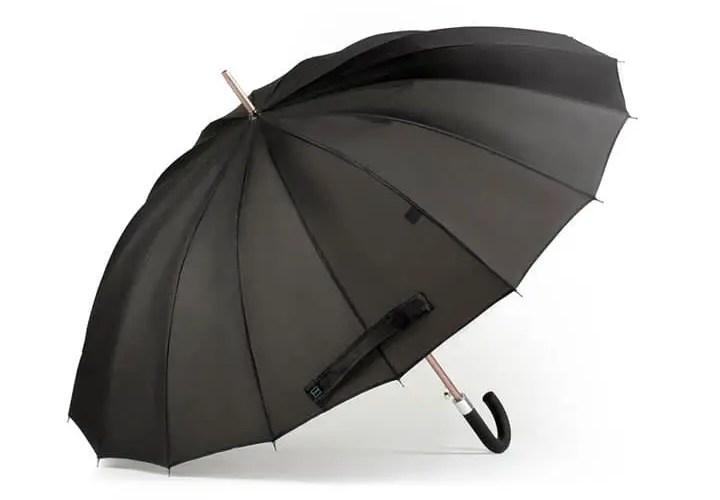 a smart umbrella, actually a pretty good idea