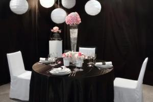 Table with utensils