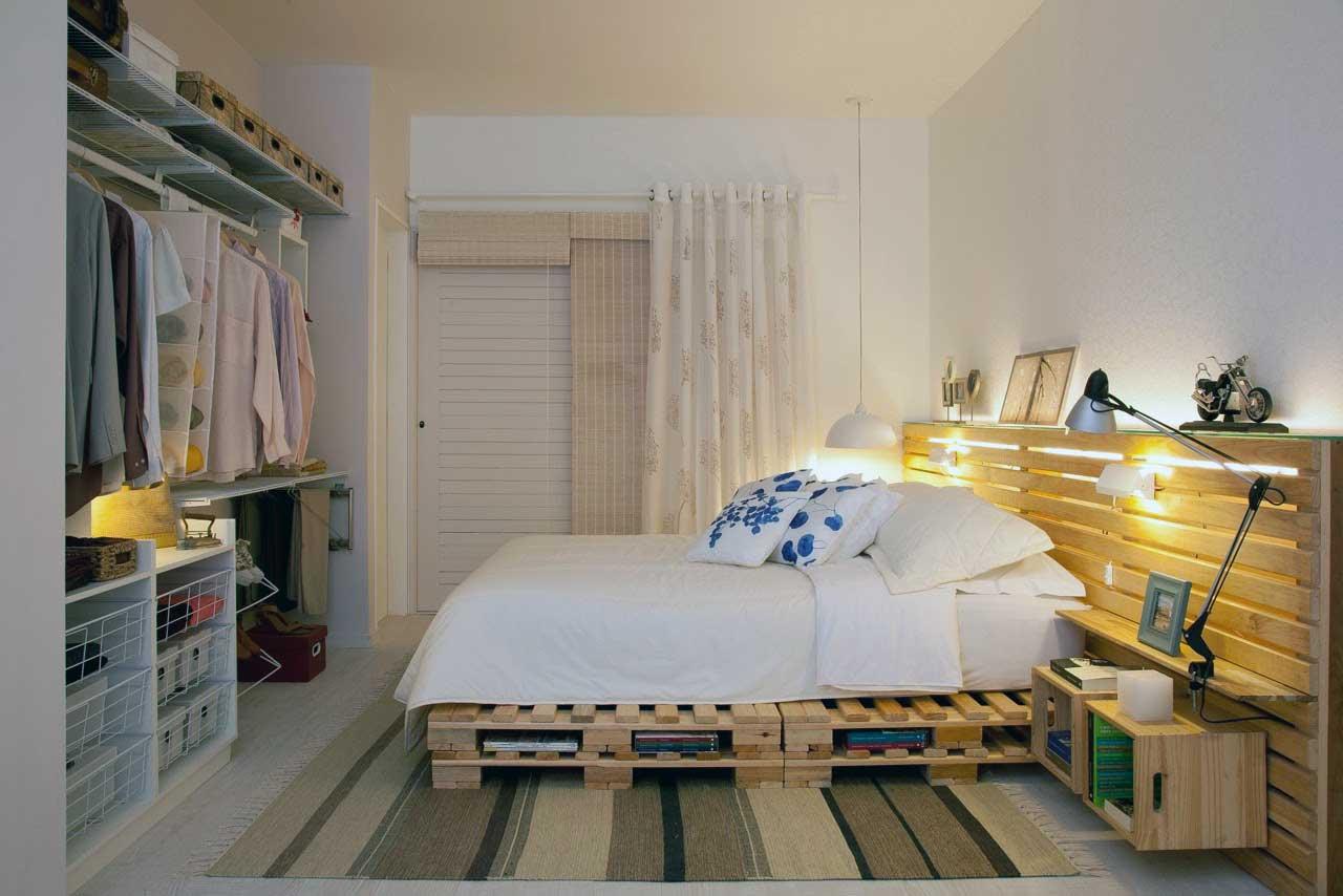 Como hacer una cama y cabecero con palets