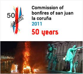 Comisión promotora Hogueras de San Juan La Coruña