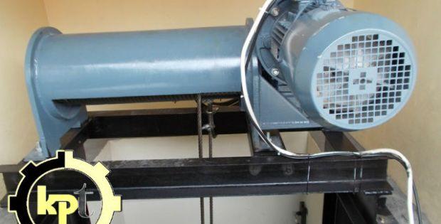 Cargo elevators Traction Hoist - Lift Barang