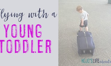 Flying With a Young Toddler