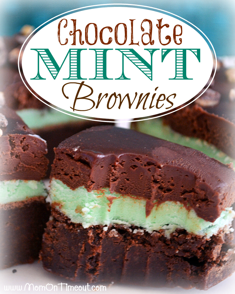 Chocolate Mint Brownies | Holiday Cottage