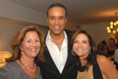 Nancy Jackson, Maurice DuBois of CBS 2 News, Iris Dankner