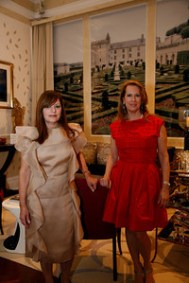 Marjorie Sobiloff and Cathy Yohay of SY Interiors