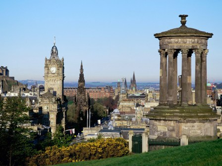 Edinburgh capital of Scotland