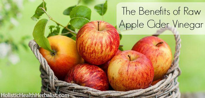 The 5 Benefits of Raw Apple Cider Vinegar