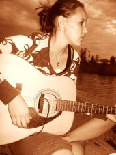 Holly is self taught on guitar and is a song writer.