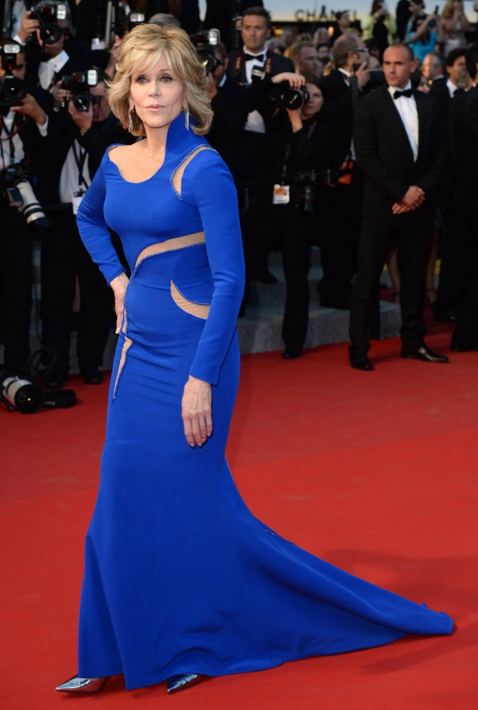 Mandatory Credit: Photo by David Fisher/REX/Shutterstock (4778728k) Jane Fonda 'The Sea of Trees' premiere, 68th Cannes Film Festival, France - 16 May 2015