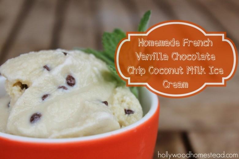 Paleo Dairy-Free Coconut Ice Cream