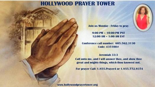 5 day prayer flyer