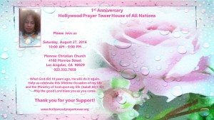 1st Annual HPT Anniversary Celebration