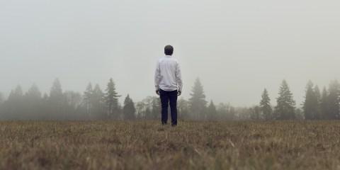 alleine mann