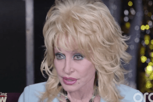 Dolly Parton at Larry King