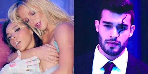 Sam Asghari Britney Spears slumber party