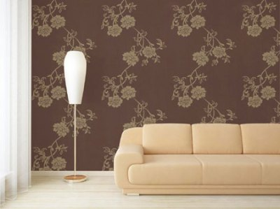 HOME DZINE Home Decor | Affordable wallpaper for a home
