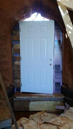 Door in place
