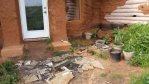 Granite scrap patio