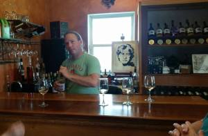 John at Entwined Vines Winery