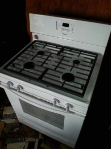 The Whirlpool off-grid stove!