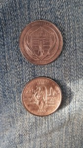 Electroplated coins: A lesson in electricity and chemistry