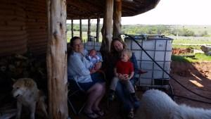 Little home-birth on the prairie