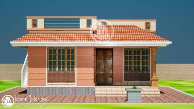 850 Sq Ft, Beautiful Kerala Home Design