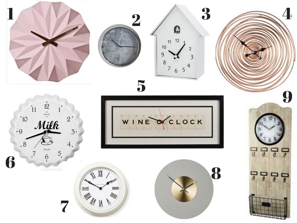 Sleek Horizon Wall Clock Wall Clocks Singapore Wall Clocks Wall Clocks Want To Own Home furniture Unique Wall Clocks