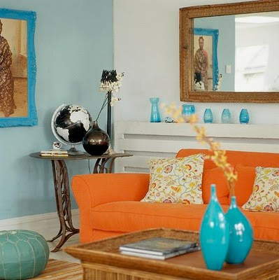 Split Complementary Room complementary color schemes