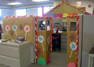 office holiday decor. office cubicles holiday decor ideas