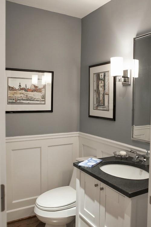 Small Modern Powder Room