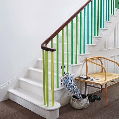 Paint Stair Railings