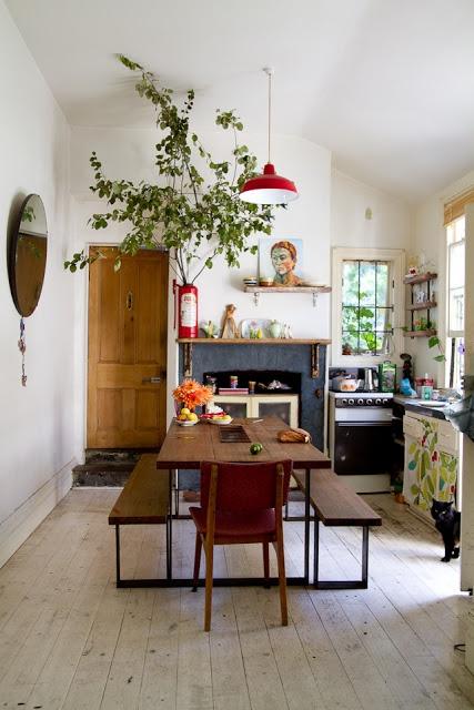 Bohemian Chic Kitchens