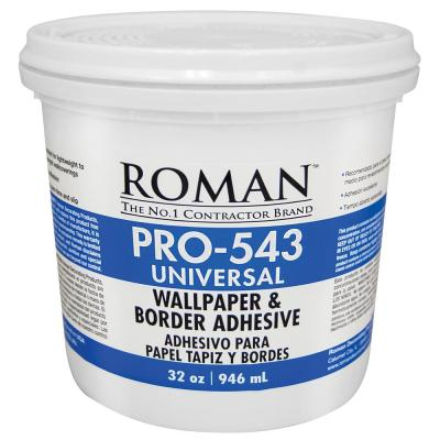 ROMAN PRO-543 1 qt. Universal Wallpaper Adhesive-209902 - The Home Depot