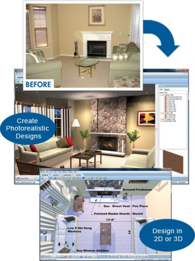 Interior Home Design Software | Virtual Architect