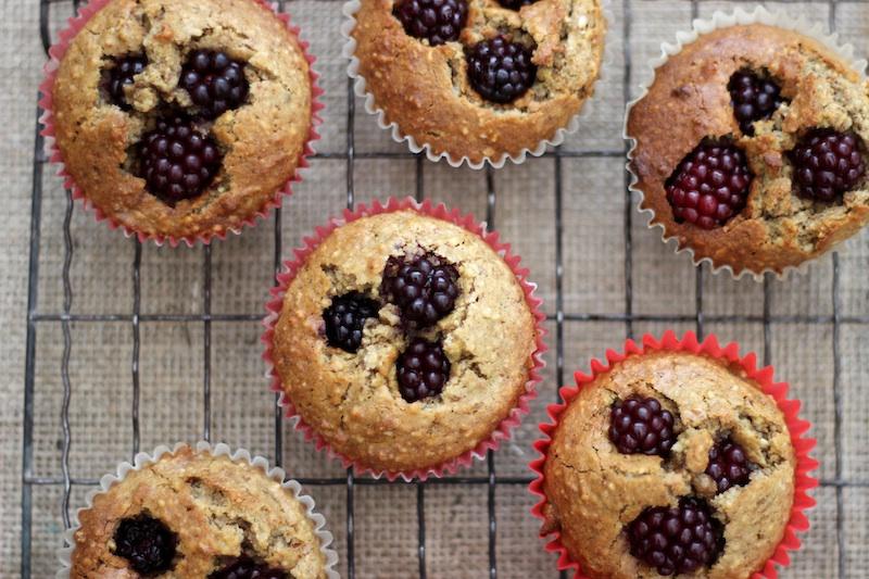 Mini Berry Almond Cakes | Homegrown Kitchen