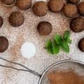 RAW Chocolate Mint Truffles   Homegrown Kitchen