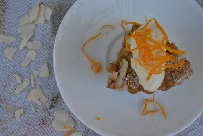 Almond & Peach Tart | HOMEGROWN KITCHEN