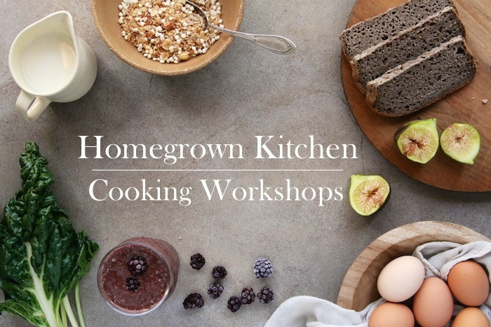 Homegrown Kitchen Cooking Workshops
