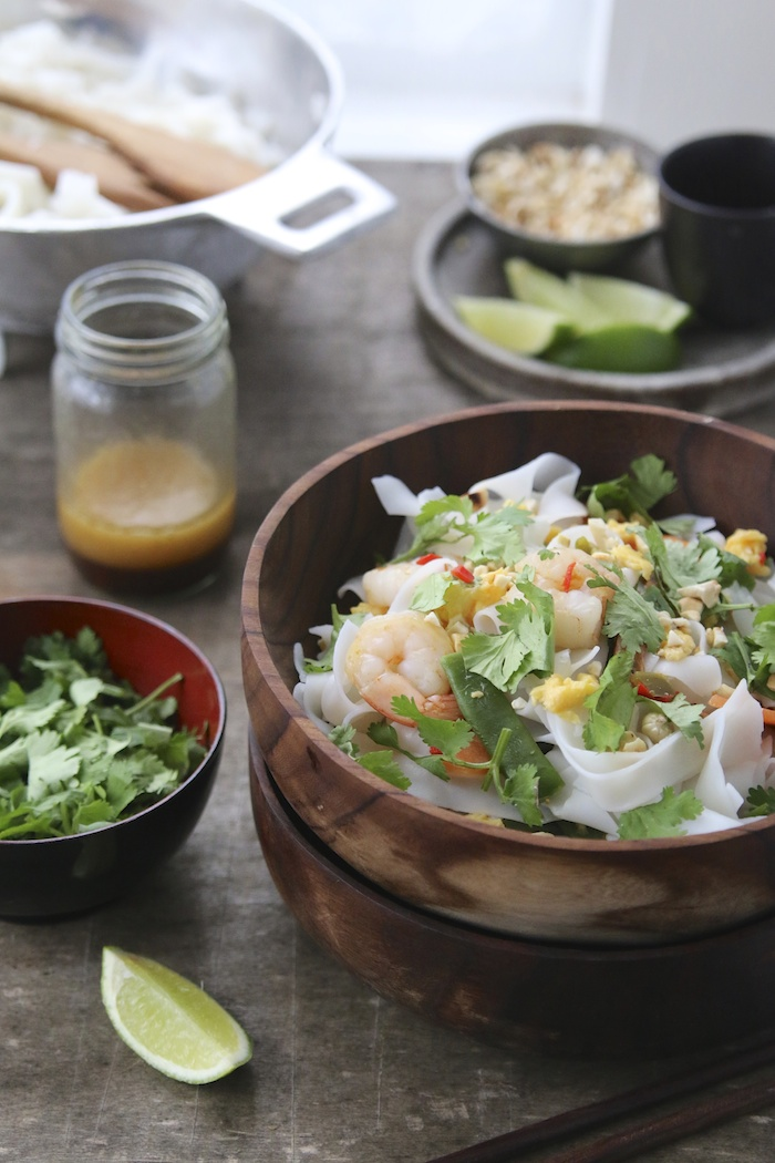 30 Minute Pad Thai | HOMEGROWN KITCHEN