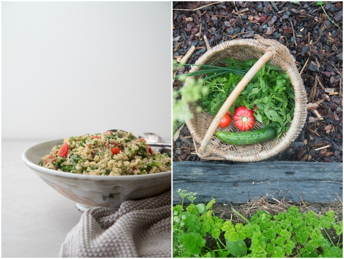 Quinoa Tabbouleh | HOMEGROWN KITCHEN