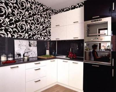 How to Decorate Kitchen Cabinets with Wallpaper: 5 Guides To Conduct | Home Improvement Day