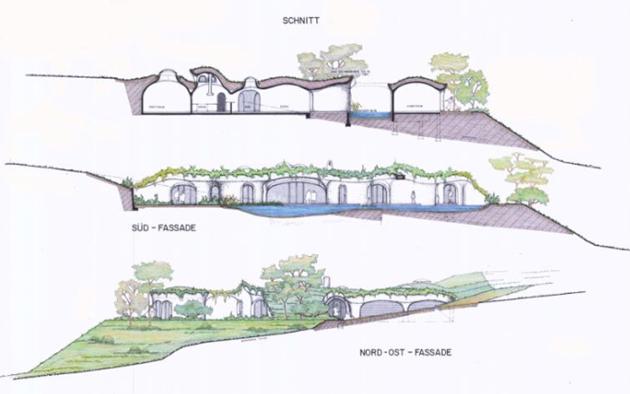 Peter vetsch earth house plans house design plans for Peter vetsch earth house