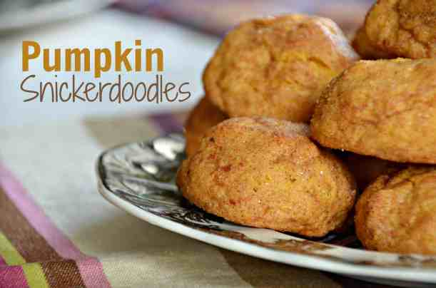 Pumpkin Snickerdoodles- A Home in the Finger Lakes Recipe