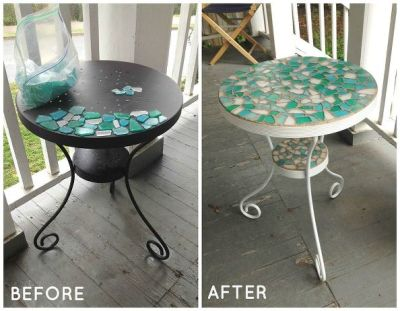 18 Surprising Ways To Transform Ugly Tables Into Something Beautiful
