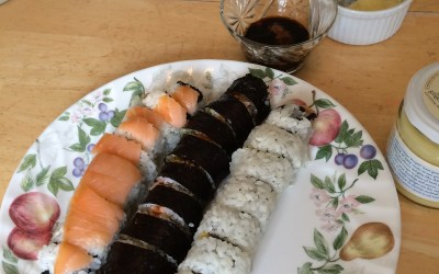 Making Sushi at Home- Easier than it sounds