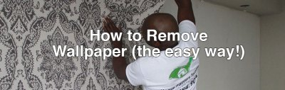 Home Painters Toronto » How to Remove Wallpaper (the easy way!)