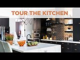 Bold and Graphic Kitchen