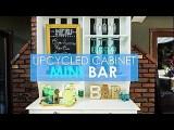 Convert an Old Cabinet Into an Outdoor Mini Bar